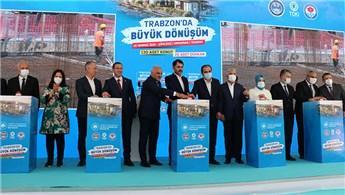 Bakan Kurum, Trabzon'da büyük dönüşümü başlattı