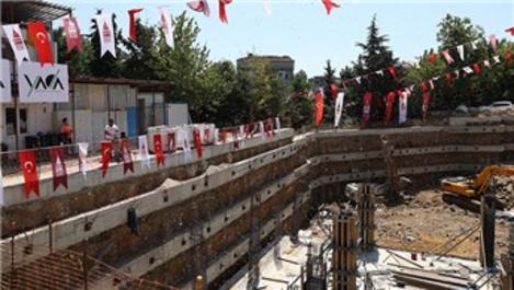 Beyoğlu Ortaokulu'nun temeli atıldı