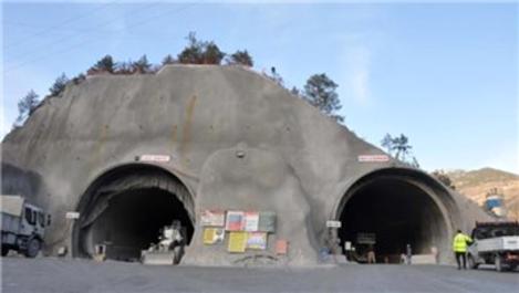 Zigana Tüneli'nde delme çalışmaları çift yönlü devam ediyor