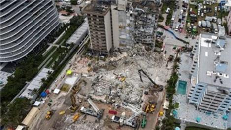 Miami'de çöken binalara ölü sayısı 97'ye yükseldi!