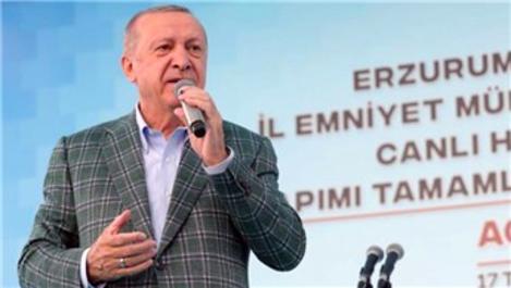 Başkan Erdoğan: O bölgeler afet bölgesi olacak
