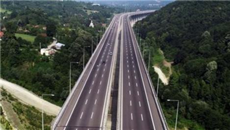 Anadolu Otoyolu'nda trafik yoğunluğu azaldı