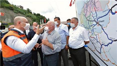 Salarha Tüneli, 30 dakikalık yolu 5 dakikaya indirecek
