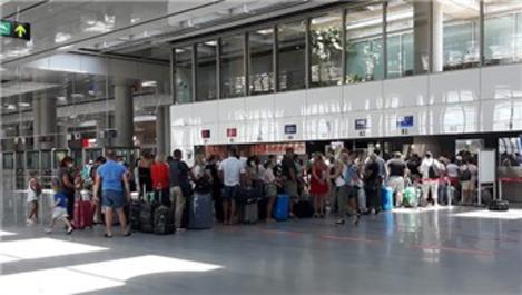 Dalaman Havalimanı'ndan bayramda 275 uçuş yapıldı