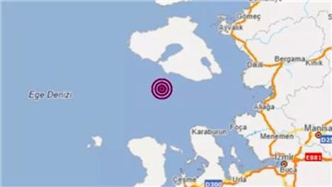İzmir açıklarında 4.2 büyüklüğünde deprem!