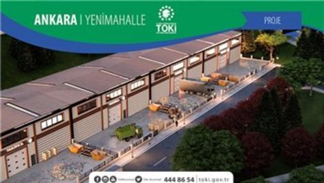 TOKİ, Ankara Küçük Sanayi Sitesi'nin ihalesini gerçekleştirdi