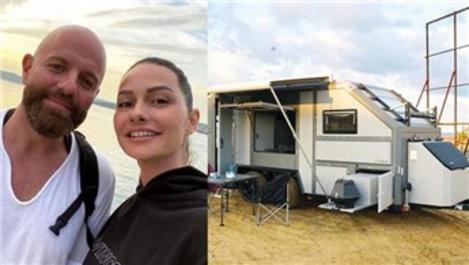 Yasemin-İzzet Özilhan çifti 300 bin TL'ye karavan aldı!