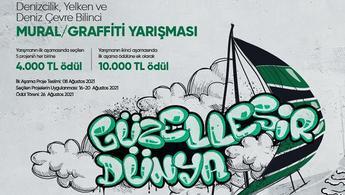 Permolit Boya ile Mural/Graffiti yarışması başlıyor