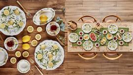 Bella Maison Lemonade Kahvaltı Takımı ile sofralarda yaz enerjisi