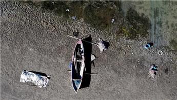 Konya'da kuraklığın etkisiyle baraj ve göller dip seviyeyi gördü