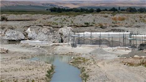 2 bin yıllık Perpıra Köprüsü'nün restorasyon çalışması sürüyor