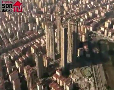 Four Winds Residence'ın görüntüsüne havadan bakın!
