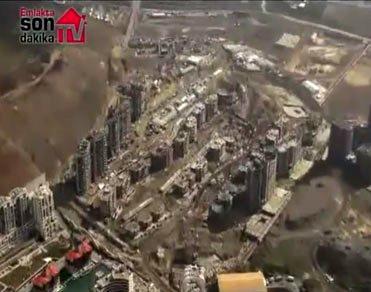 İstanbul Sarayları'nın havadan görüntüsü...