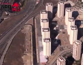 Bizim Evler 4'e helikopterden bakın!
