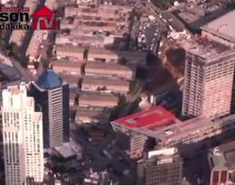 42 Maslak Projesi'ni helikopter görüntüsü ile izleyin