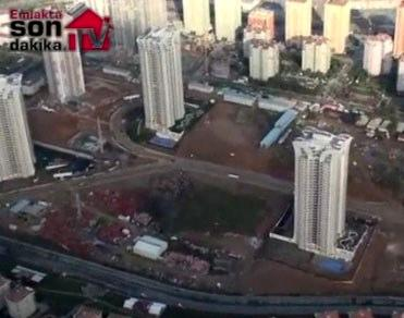 Ataşehir Ağaoğlu My Towerland inşaatında son durum!