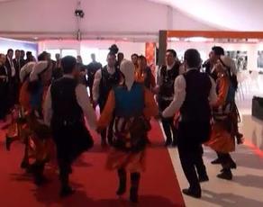 MIPIM 2013'te Maslak 1453 maketi önünde horon şov!