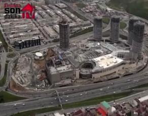 Mall of İstanbul Nisan 2013 hava görüntüsü!