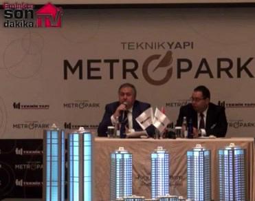 Teknik Yapı Metropark projesinin lansmanı yapıldı!