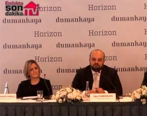 Dumankaya Horizon'un basın toplantısı yayında!