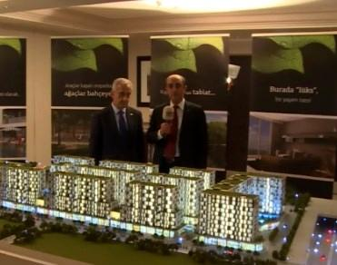 Selahattin Özgül West Side İstanbul'u maketten anlattı