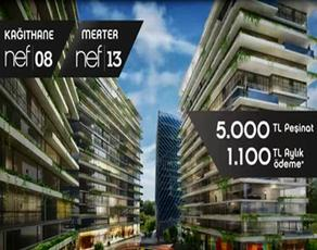 Nef Merter 13 ve Nef Kağıthane 08'in reklam filmi yayında