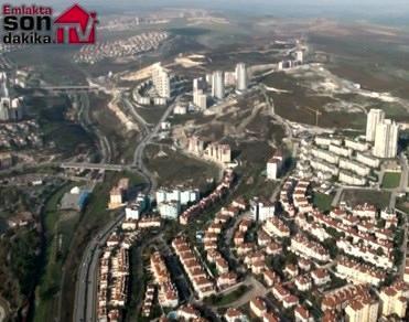 Kiptaş Vaditepe Bahçeşehir'in havadan görüntüleri