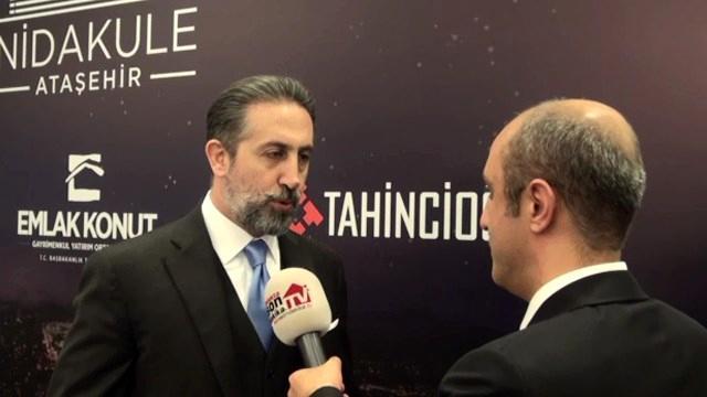 Özcan Tahincioğlu, Nidakule Ataşehir'i anlattı