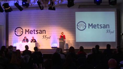 Metsan, 55. yaşını kutladı