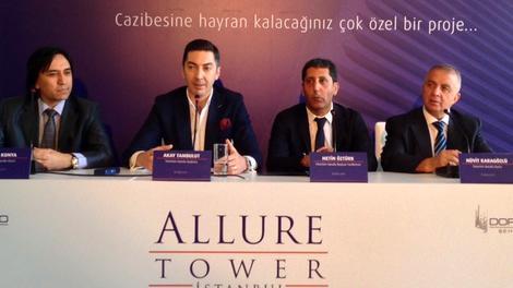Allure Tower basın toplantısı yayında