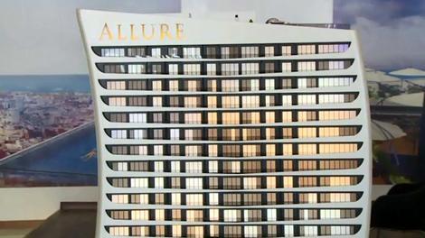 Allure Tower maket görüntüleri