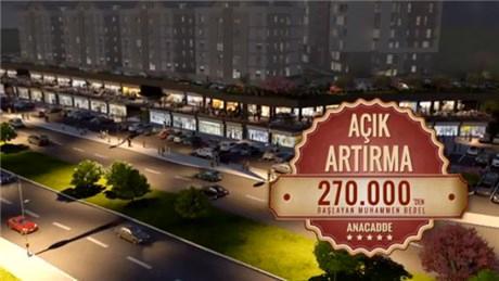 Kayaşehir Anacadde projesinin tanıtım filmi