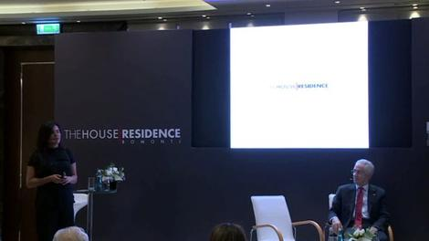 Füsun Yılmaz, The House Residence'ı tanıttı