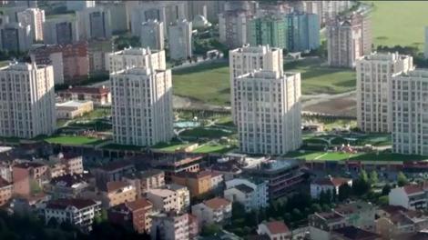 Marmara Evleri 3 projesinde bir de havadan bakın