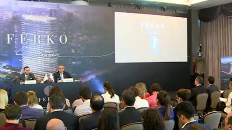 Ferko Signature basın lansmanı yayında