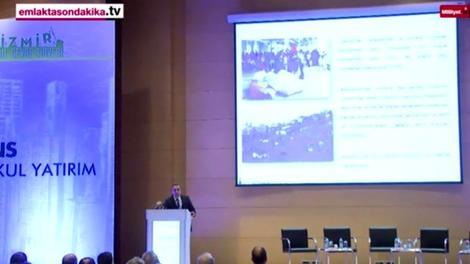 Suphi Şahin, İzmir kentsel dönüşüm projelerini anlattı