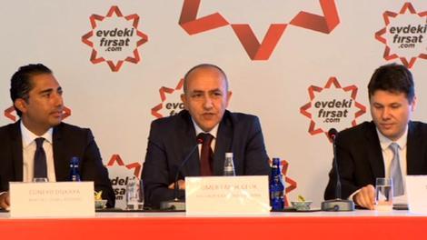 evdekifirsat.com basına tanıtıldı! Ömer Faruk Çelik...