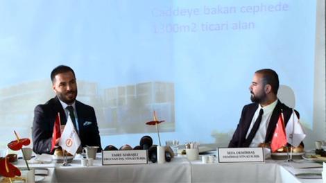Avlu Kurtköy basın lansmanı yayında