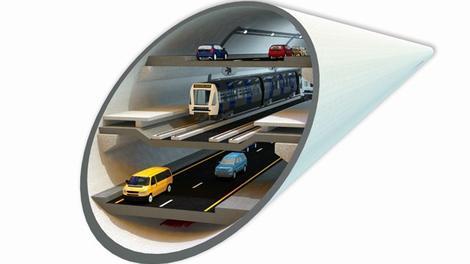 3 katlı Büyük İstanbul Tüneli böyle olacak!