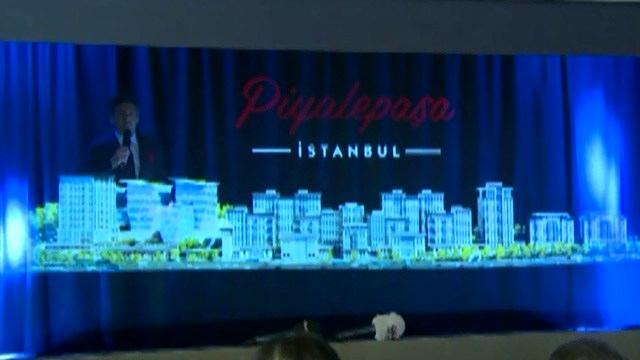 Piyalepaşa İstanbul'un lansmanında hologram şov!