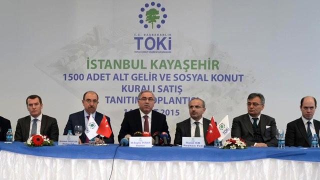 TOKİ'den İstanbul Kayaşehir'de 539 lira taksitle daire!