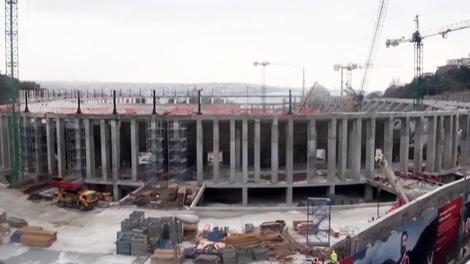 Beşiktaş Vodafone Arena'nın son durumu!