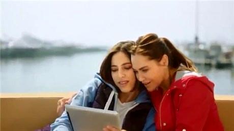 Hülya Avşar kızıyla birlikte Marina Ankara reklamında!