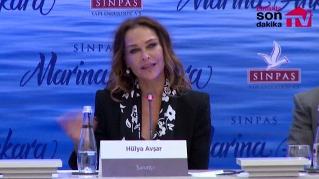 Hülya Avşar, Marina Ankara'yı anlatıyor!