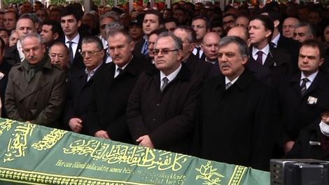 Hacı Ömer Çetinsaya'nın cenaze töreni!
