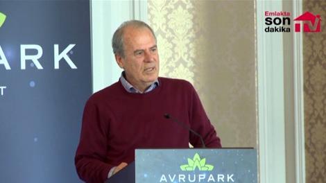 Mustafa Denizli, Avrupark Bahçekent'i anlatıyor!