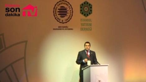 Mehmet Ulusoy, Uluslararası Yatırım Zirvesi'nde!