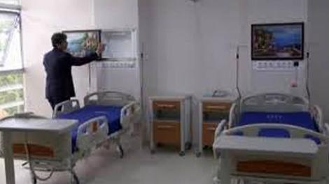 Yalova'daki rezidans konforlu hastane böyle görüntülendi!
