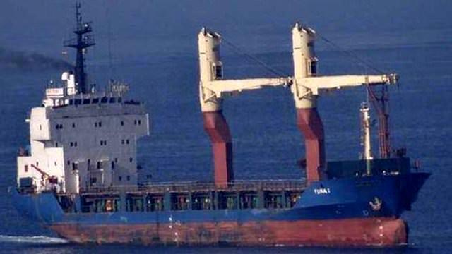 İşte saldırıya uğrayan Türk gemisi!