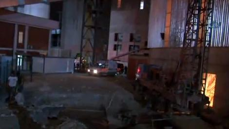Ankara'daki çimento fabrikasında patlama!